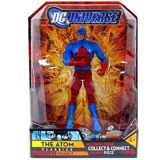 DC Universe Classics Series 5 Exclusive Action Figure The Atom Build Metallo Piece!: Toys & Games