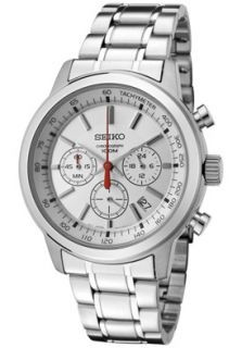 Seiko SSB035  Watches,Mens Classic Chronograph Silver Dial Stainless Steel, Chronograph Seiko Quartz Watches