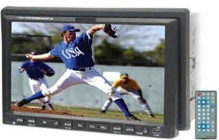 """New Release Brand New Nitro Bmw touch In dash Double Din (4"""" Height) 7"""" Motorized Car Touch Screen Monitor with Built in Dvd/cd//am/fm/ Player and Tv Tuner and Usb Input + Sd Card Reader and Advanced Audio and Video Features  Vehicle Audio V"""
