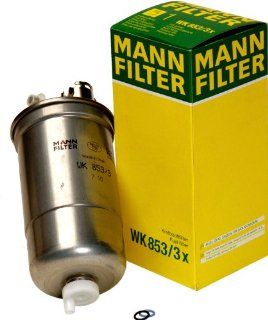Mann Filter WK 853/3 X Fuel Filter: Automotive