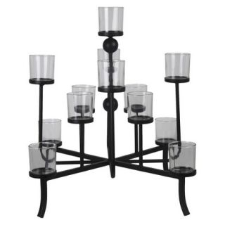 Privilege Multiple Candle Holder   Black