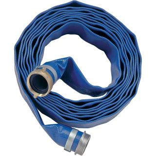 Apache Water Pump PVC Discharge Hose — 6in. x 25ft., Model# 98138095  Discharge   Suction Hoses