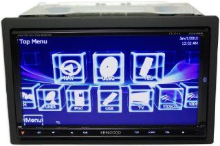 """Brand New Kenwood Ddx896 6.95"""" Double Din In dash Monitor with Built in Ipod and Bluetooth Controls  Vehicle Dvd Players"""