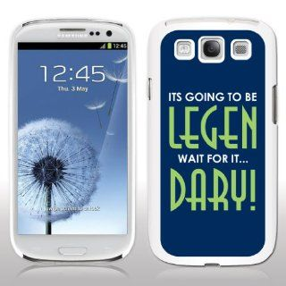 Samsung Galaxy S3 Case   How I Met Your Mother   Legen Dary!   White Phone Case: Cell Phones & Accessories