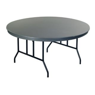 AmTab Manufacturing Corporation Round Folding Table R60DL / R72DL Size: 29 H