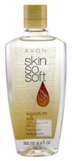 Avon SSS Signature Silk Oil 16.9 oz. Health & Personal Care