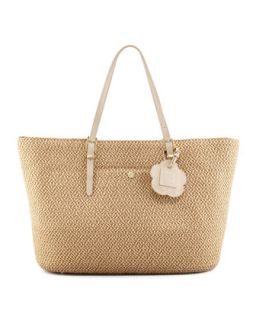 Jav III Squishee Tote Bag, Natural   Eric Javits