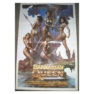BARBARIAN QUEEN/ ORIGINAL U.S. ONE SHEET MOVIE POSTER (LANA CLARKSON) LANA CLARKSON Entertainment Collectibles