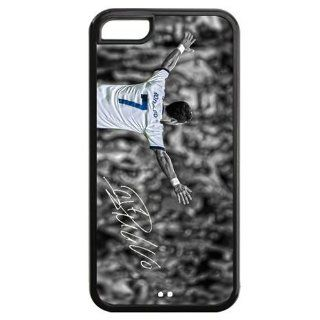 Makebestbuy Cristiano Ronaldo Real Madrid FC Hard Case Rubber Protector Bumper Cover for Iphone 5c At&t/ Verizon/ Sprint Xmas Christmas Gifts: Cell Phones & Accessories