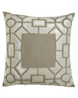 European Sham with Maze Frame   Callisto Home