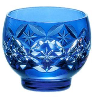 Edo kiriko (Sake Glass)#t378 893 ccb: Kitchen & Dining