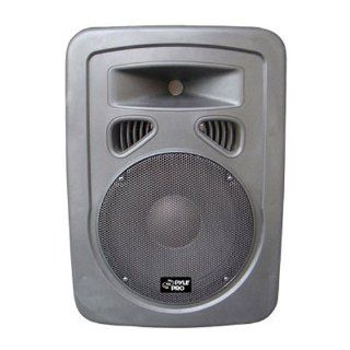 Pyle Pro PPHP898A 400 Watts 8'' 2 Way Plastic Molded Powered/Amplified Speaker System Musical Instruments