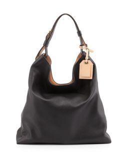 RDK Leather Hobo Bag, Black   Reed Krakoff