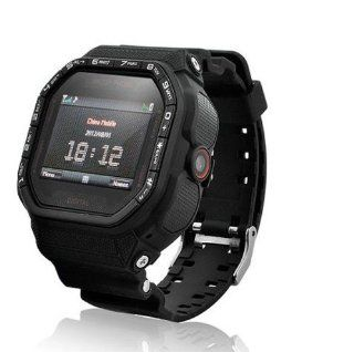 Gd930 Wrist Watch Cell Phone 1.5inch Touch Screen Camera Bluetooth Fm: Cell Phones & Accessories