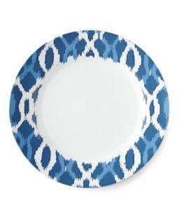 Deep Sea Ikat Dinner Plate   Aerin for Lenox
