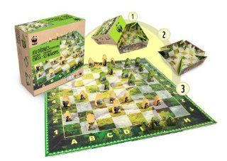 Wwf Games & Puzzles Wwf Games And Puzzles 988 Congo Basin Chess: Toys & Games