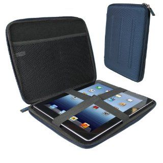 iGadgitz Blue EVA Travel Hard Case Cover Sleeve for Apple iPad 2, 3, 4 with Retina Display & New Apple iPad Air (launched October 2013) 16GB 32GB 64GB 128GB Wi Fi & Cellular Computers & Accessories