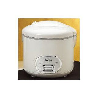 Aroma ARC 940S 10 Cup (Cooked) Cool Touch Rice Cooker & Food Steamer Kitchen & Dining