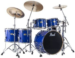 Pearl SSC944XUP/C Session Studio Classic 5 Piece Drum Set   Sheer Blue: Musical Instruments