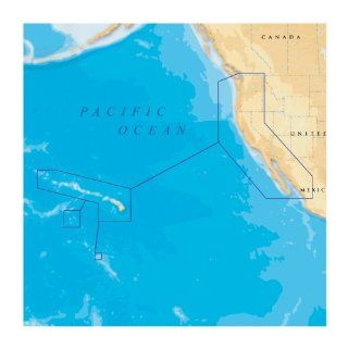 Navionics Platinum Plus 912PP   US West Coast   Hawaii   SD Card : Fishing Charts And Maps : Sports & Outdoors
