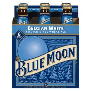Blue Moon Belgian White Wheat Ale Bottles 12 oz,