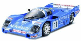 1984 Porsche 956 #11 LeMans 24 Hour Kenwood Race Car 1/24 Tamiya: Toys & Games