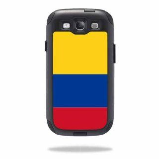 MightySkins Protective Vinyl Skin Decal Cover for OtterBox Commuter Samsung Galaxy S III S3 Case Sticker Skins Colombian Flag: Cell Phones & Accessories