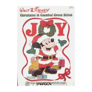 Walt Disney Characters Christmas in Counted Cross Stitch Book 5077