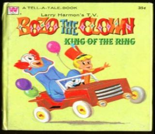 Bozo the Clown King of the Ring Whitman 1960 1st: Entertainment Collectibles