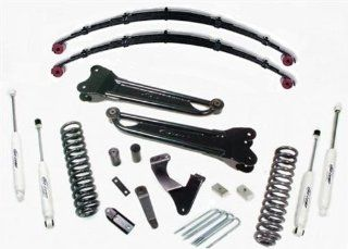 """Pro Comp K4167B 6"""" Stage 2 Lift Kit with Coil Spring and ES Shocks for Ford F250 '08 '10: Automotive"""