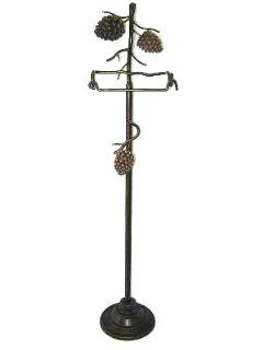 Shop PINE CONE TOILET PAPER stand room HOLDER LODGE bath NEW at the  Home D�cor Store