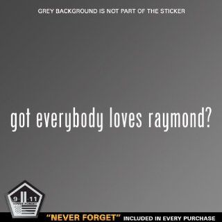 (2x) Got Everybody Loves Raymond Logo sticker vinyl decals Automotive