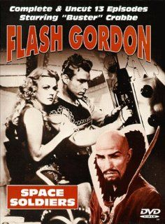 Flash Gordon   Space Soldiers: Buster Crabbe, Jean Rogers, Priscilla Lawson, Charles Middleton, Frank Shannon, Richard Alexander, Jack Tiny Lipson, Theodore Lorch, Richard Tucker, George Cleveland, James Pierce, Duke York, Frederick Stephani, Alex Raymond,