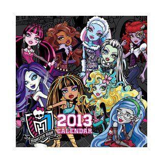 Monster High 2013 Mini Wall Calendar Books