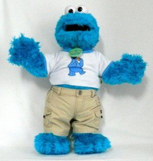 """COOKIE MONSTER Limited Edition 22"""" Plush (Build A Bear Workshop) Toys & Games"""