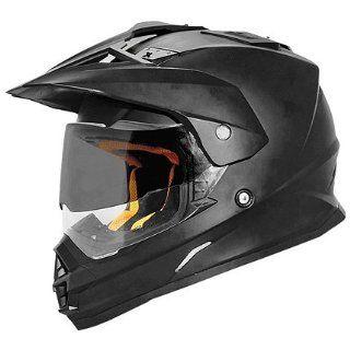 Cyber Solid UX 32 Dirt Bike Motorcycle Helmet   Matte Black / Large Automotive