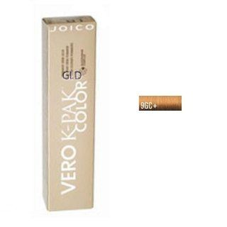 Joico Age Defy Vero K Pak Color 9GC+ (Light Golden Copper Blonde) : Chemical Hair Dyes : Beauty