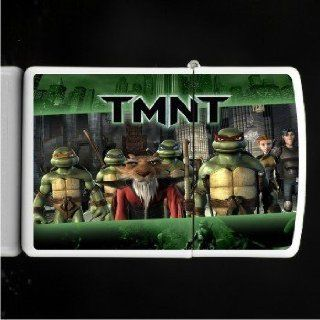 New Product Tmnt Turtles Flip Top Cigarette Lighter + free Case Box