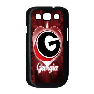 popularshow ncaa Georgia Bulldogs logo case protect for Samsung Galaxy S3 I9300 case: Cell Phones & Accessories
