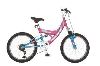 Pacific Horizon Girls' 20 Inch Dual Suspension Mountain Bike : Dual Suspension Mountain Bicycles : Sports & Outdoors
