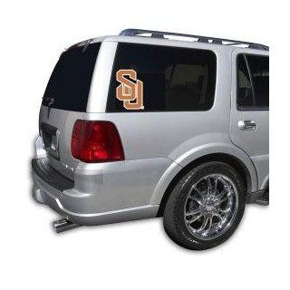 Syracuse Orangemen Team Auto Window Decal (12 x 10  inch) : Sports Fan Automotive Magnets : Sports & Outdoors