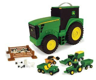 Ertl John Deere Carry Case Value Set: Toys & Games