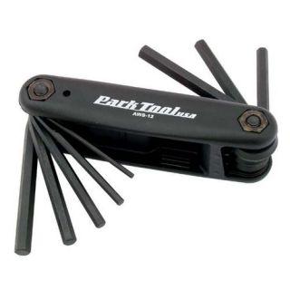 Park Tool Folding Allen Key Set   Metric & Imp.