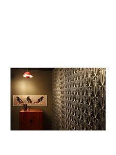 Tempaper Bela Midnight Self Adhesive Wallpaper