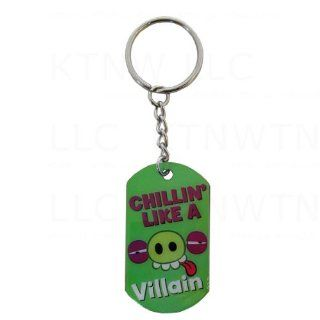 Metal Dog Tag Necklace in Classic Angry Birds Design   Pig: Automotive