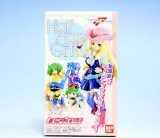 HALF AGE GIRLS Macross Frontier heroine heroine spirits Bandai (all 10 specie Toys & Games