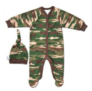 Itty Bitty Baby Baby boys Camo Sleeper: Infant And Toddler Sleepers: Clothing