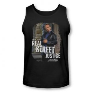 Law and Order SVU   Adult Tank Top Shirt Finn Street Justice: Clothing