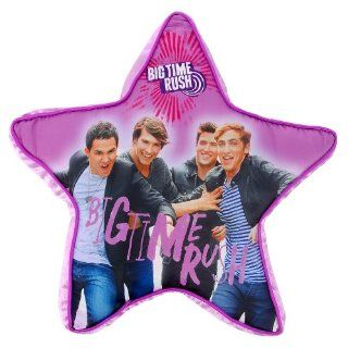 "Big Time Rush Decorative Throw Pillow Star Shaped 18"" Across Nickelodeon   Childrens Pillows"