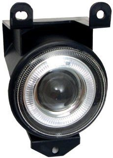 GMC Yukon Denali / XL Denali 2001 2002 2003 2004 2005 2006 Fog Lights, Projector W/ Halo Clear Also for Sierra C3 03 06, Sierra Denali 99 06: Automotive